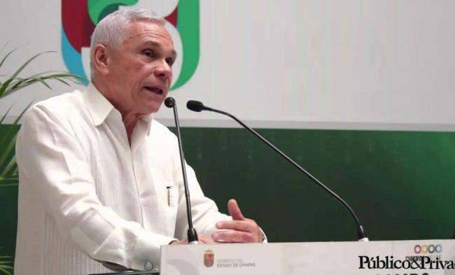 José Antonio Aguilar Bodegas, secretario del Campo del gobierno de Chiapas. Foto: @Publico&Privado.