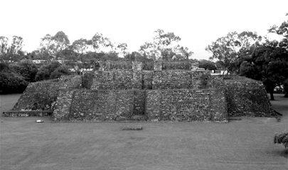 El recinto arqueológico cuenta con más de siete mil metros cuadrados. Foto/Cuartoscuro