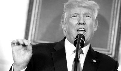 """""""El racismo es el mal"""", aseguró el presidente Donald Trump en la Casa Blanca. Foto/Ap"""