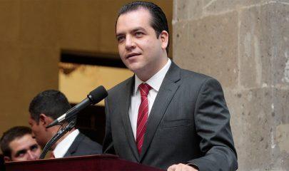 Roberto Albores Gleasson, senador por Chiapas.