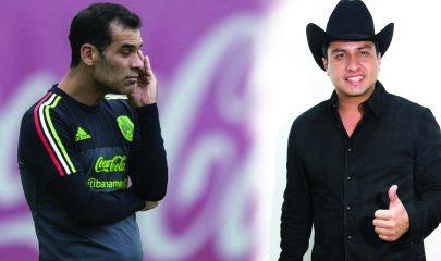 Rafa Márquez y Julion Álvarez, son vinculados con el narcotráfico. Foto/Publimetro/El Mañana de Reynosa.
