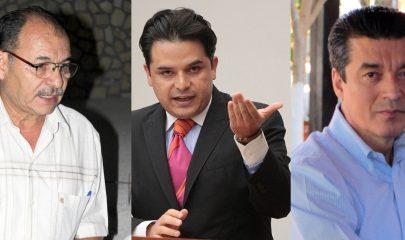 Oscar Gurría Penagos, Zoe Robledo Aburto y Rutilio Escandón Cadena, participarán en la encuesta para la Coordinación Organizativa en Chiapas. Foto/ArchivoMedia