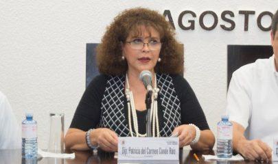 Patricia del Carmen Conde Ruiz, diputada. Foto/Congreso del Estado de Chiapas.
