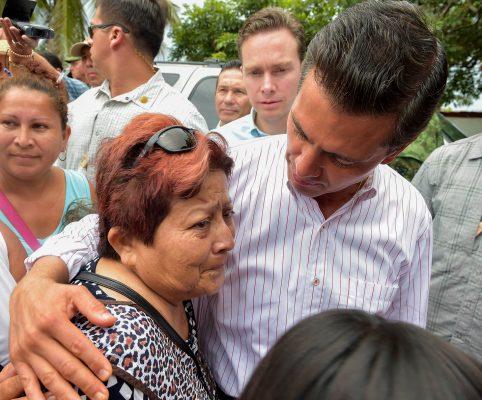 Enrique Peña Nieto en gira por Chiapas. Foto/@EnriquePN.