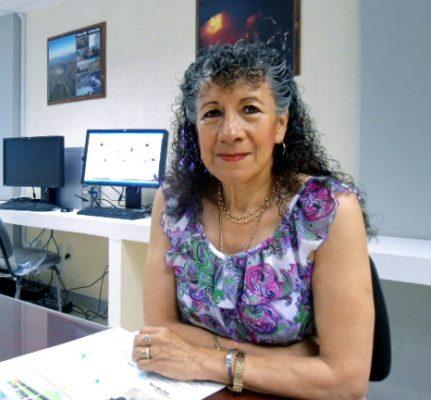 Silvia Ramos Hernández, sismóloga, Chiapaneca.