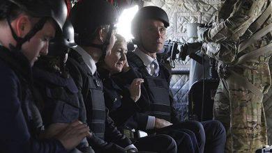 Jens Stoltenberg, secretario general de la OTAN, a su llegada a Kabul. Foto/AFP