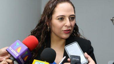 Fabiola Ricci Diestel, presidenta de la comisión de Protección Civil del H. Congreso del Estado.