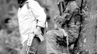 Puñado de armados en Oxchuc. Foto/El Mañana de Reynosa.
