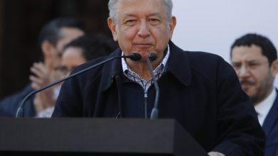 """El precandidato a la presidencia de la coalición """"Juntos Haremos Historia"""", Andrés Manuel López Obrador. Foto/Carlos Mamahua."""