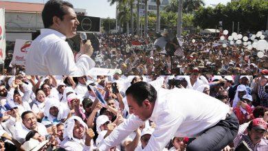 Albores Gleason y Ramírez Aguilar. Convocando a sus seguidores. Foto/redes.